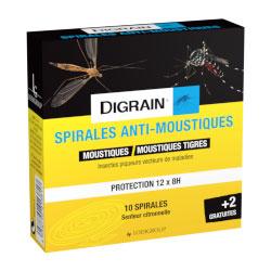 Digrain Spirales anti-moustiques